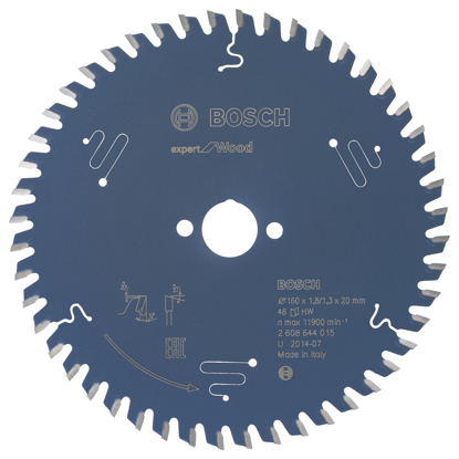 SIRKELSAGBLAD 160X20MM 48T EXPERT WOOD