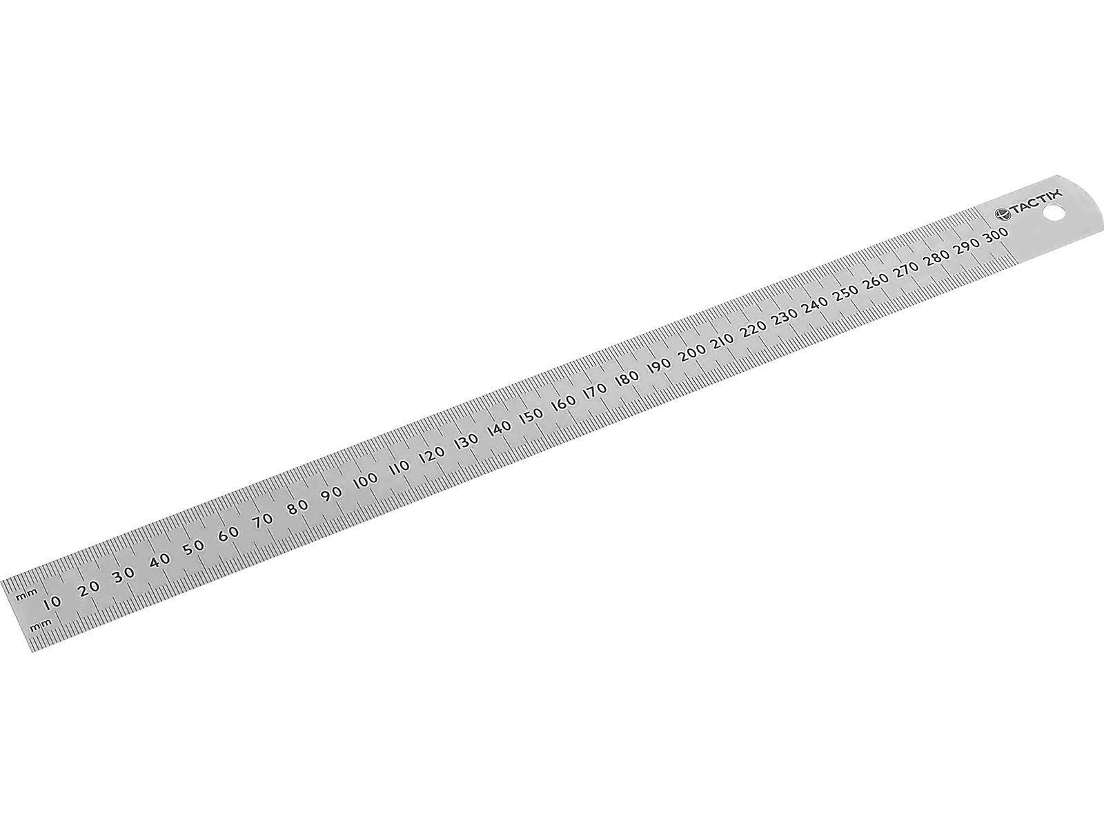 Bilde av Linjal rustfritt stål 300 mm