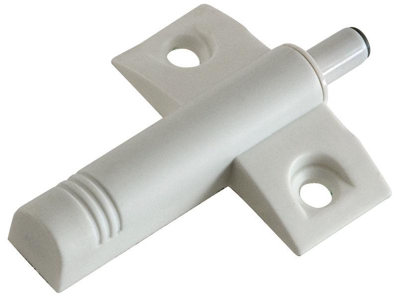 Bilde av Dørdemper plast hvit 46x53mm A2