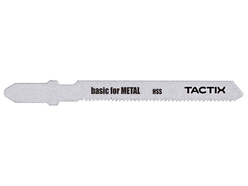 """Bilde av Stikksagblad """"T"""" HSS/metall 75 mm 21TPI 5 stk (bas"""