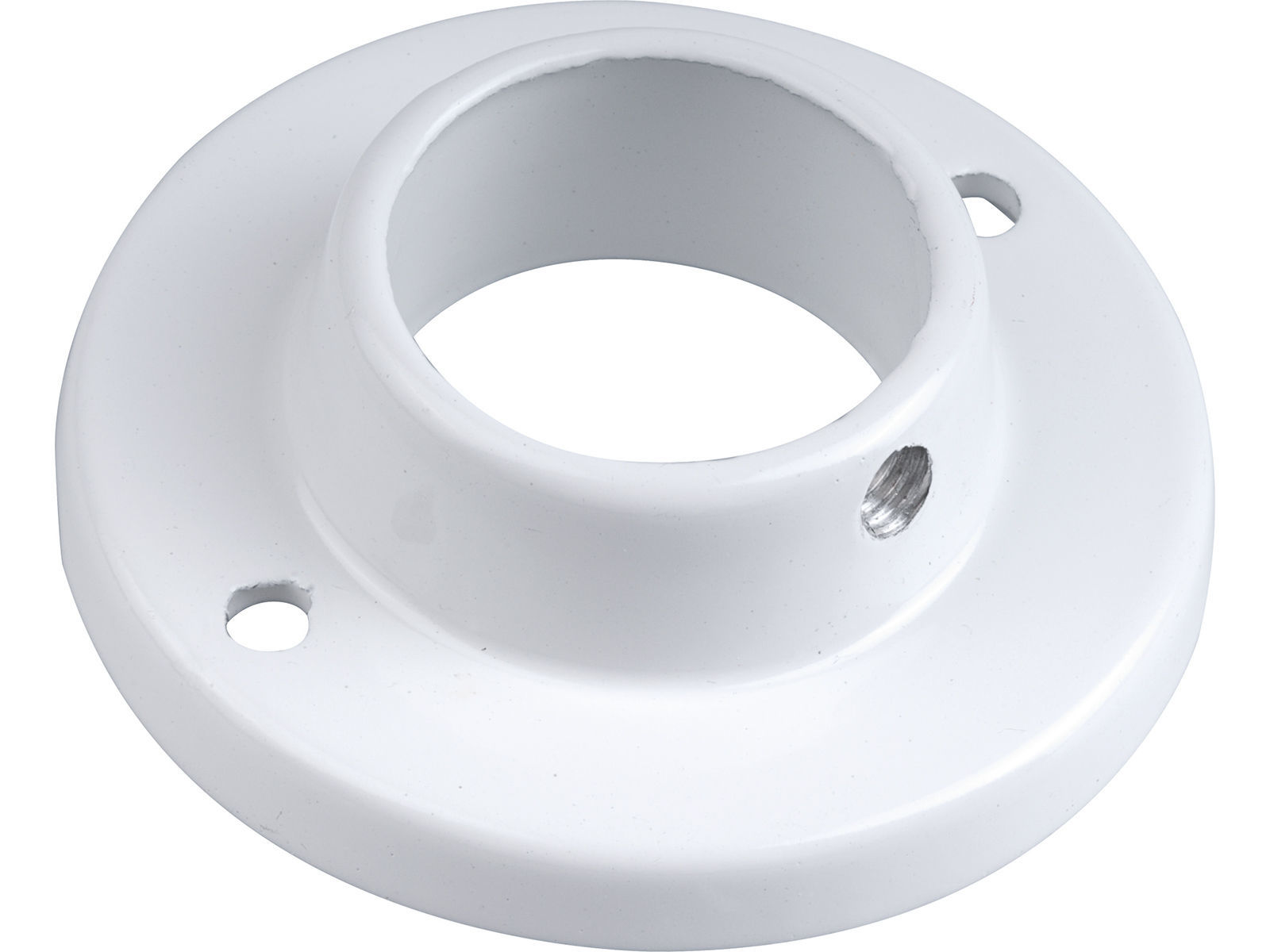 Bilde av Rørholder rund hvit Ø25mm 2stk