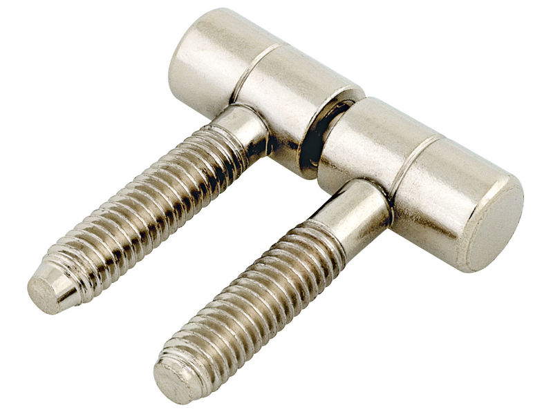 Bilde av Innboringshengsel stål/fornikkel Ø5.5mm 4 stk