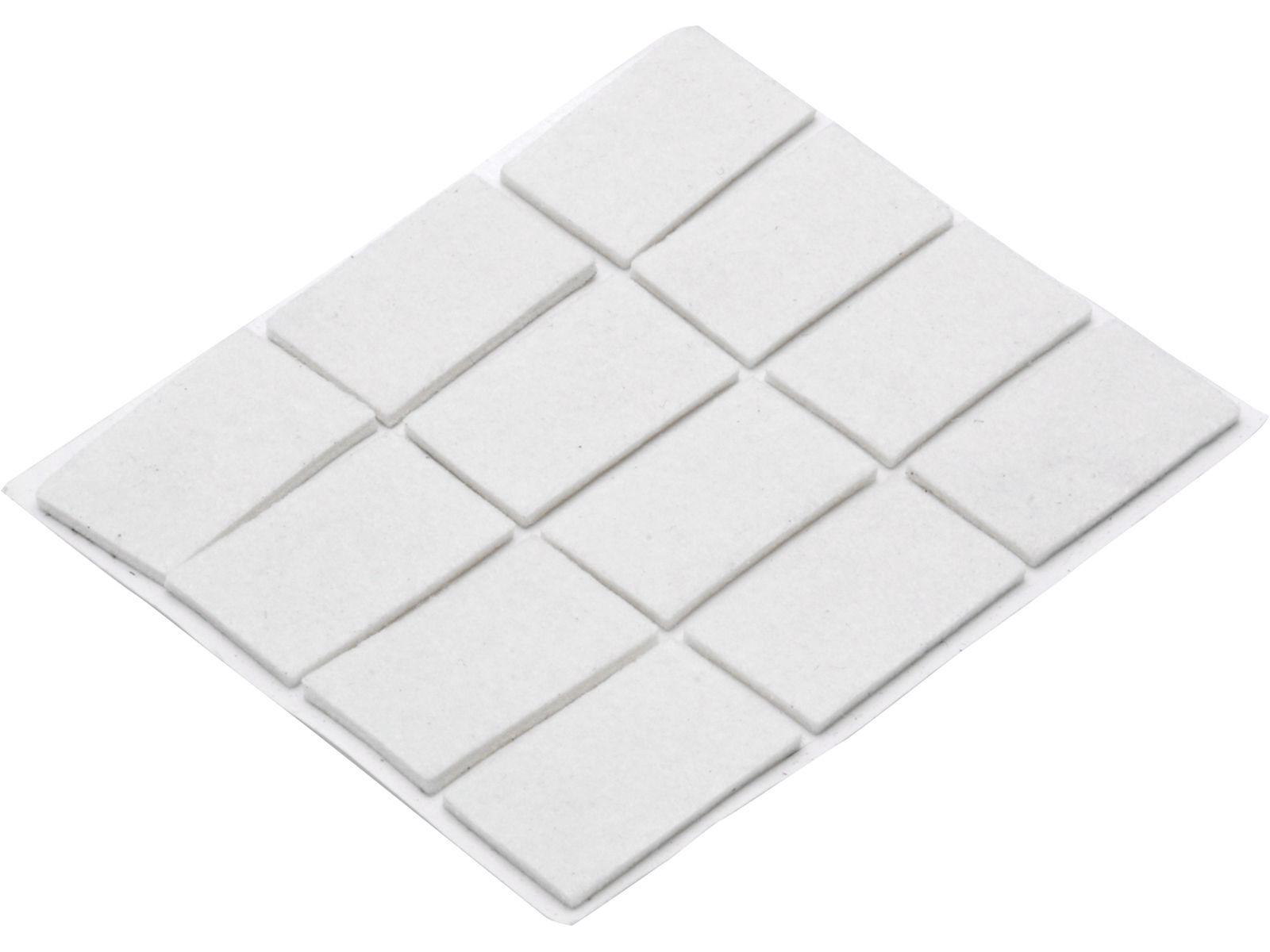 Bilde av Møbelfilt selvklebende hvit 22x22 A12