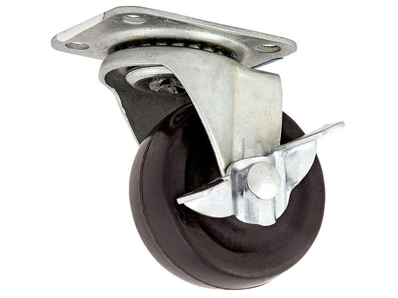Bilde av Møbeltrinse dreielig m/brems elforsinket/gummi