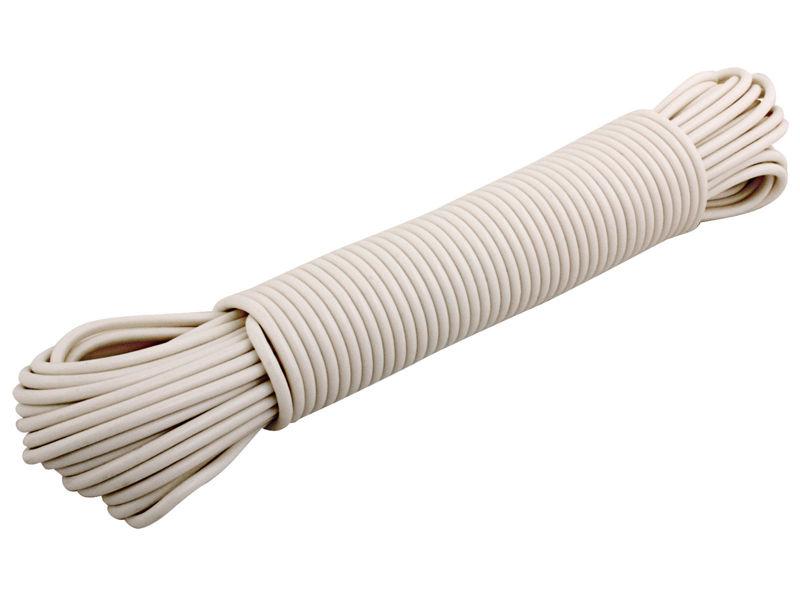 Bilde av Vaskeline plastbelagt hvit 4mm