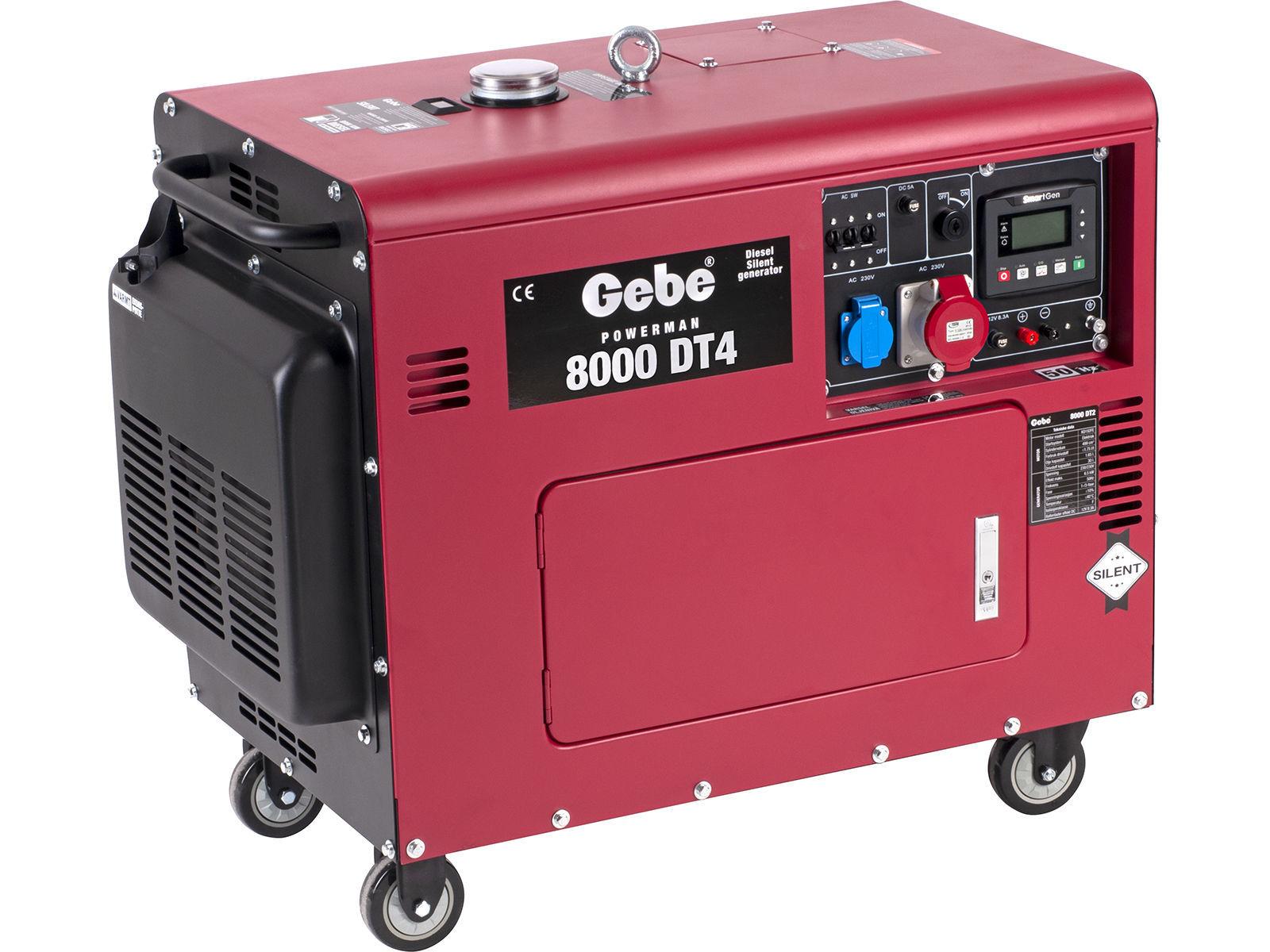 Bilde av Strømaggregat PM 8000 DT4 diesel