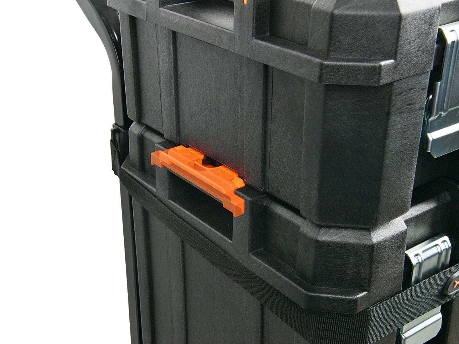 Bilde av Verktøykoffert sett 3 stk med tralle (Modul)