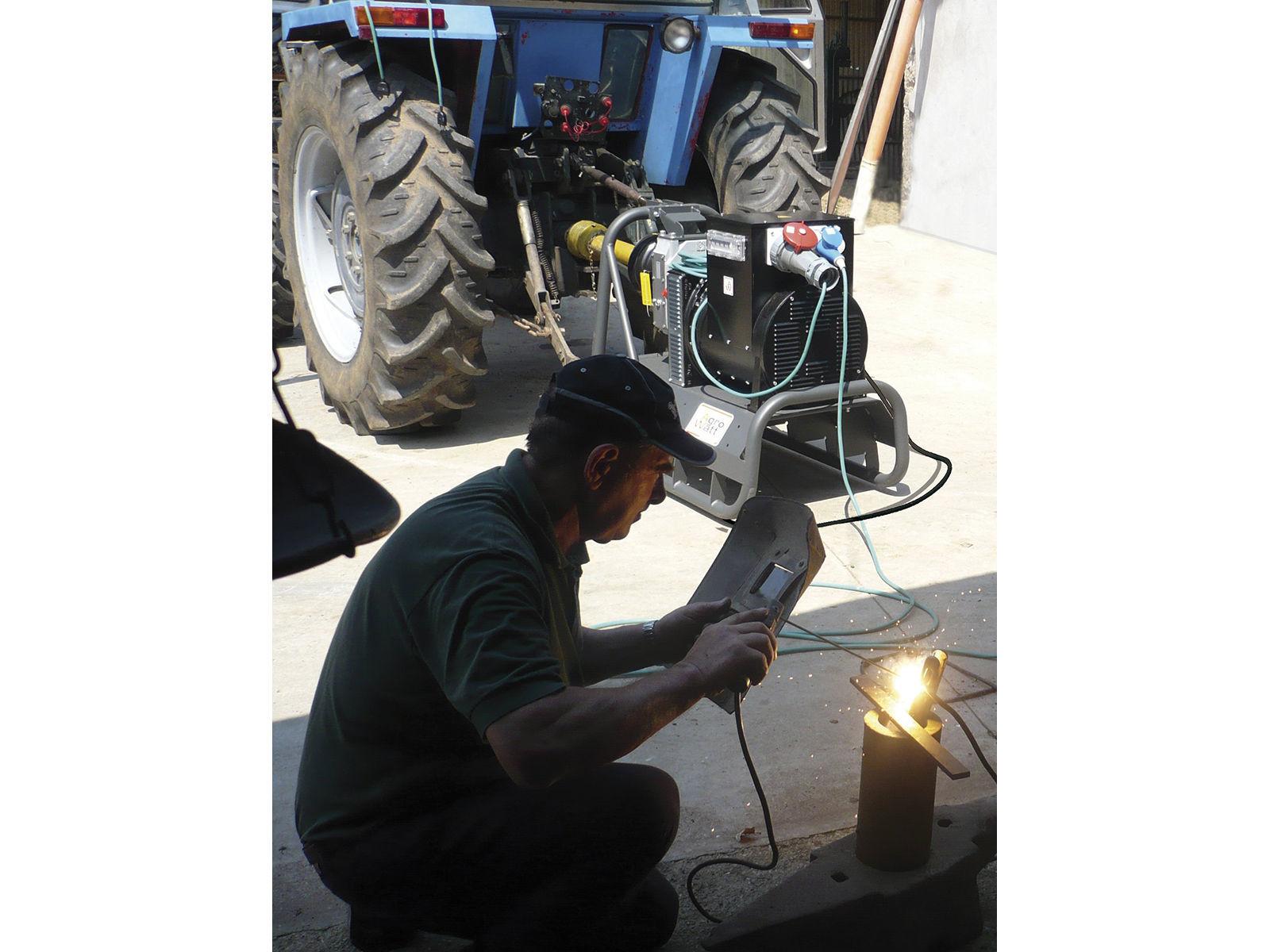 Bilde av Strømaggregat Farmer 60 400V traktordrevet