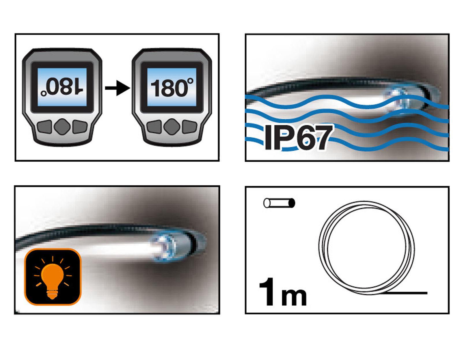 Bilde av Inspeksjonskamera 1m kabel
