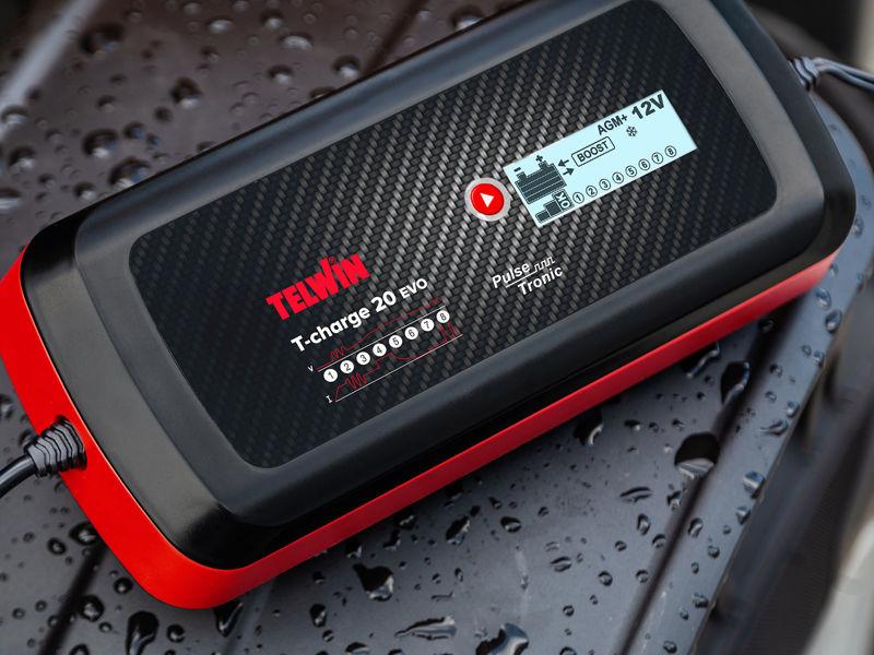 Bilde av Batterilader T-Charge 20 Evo 12/24V 8A