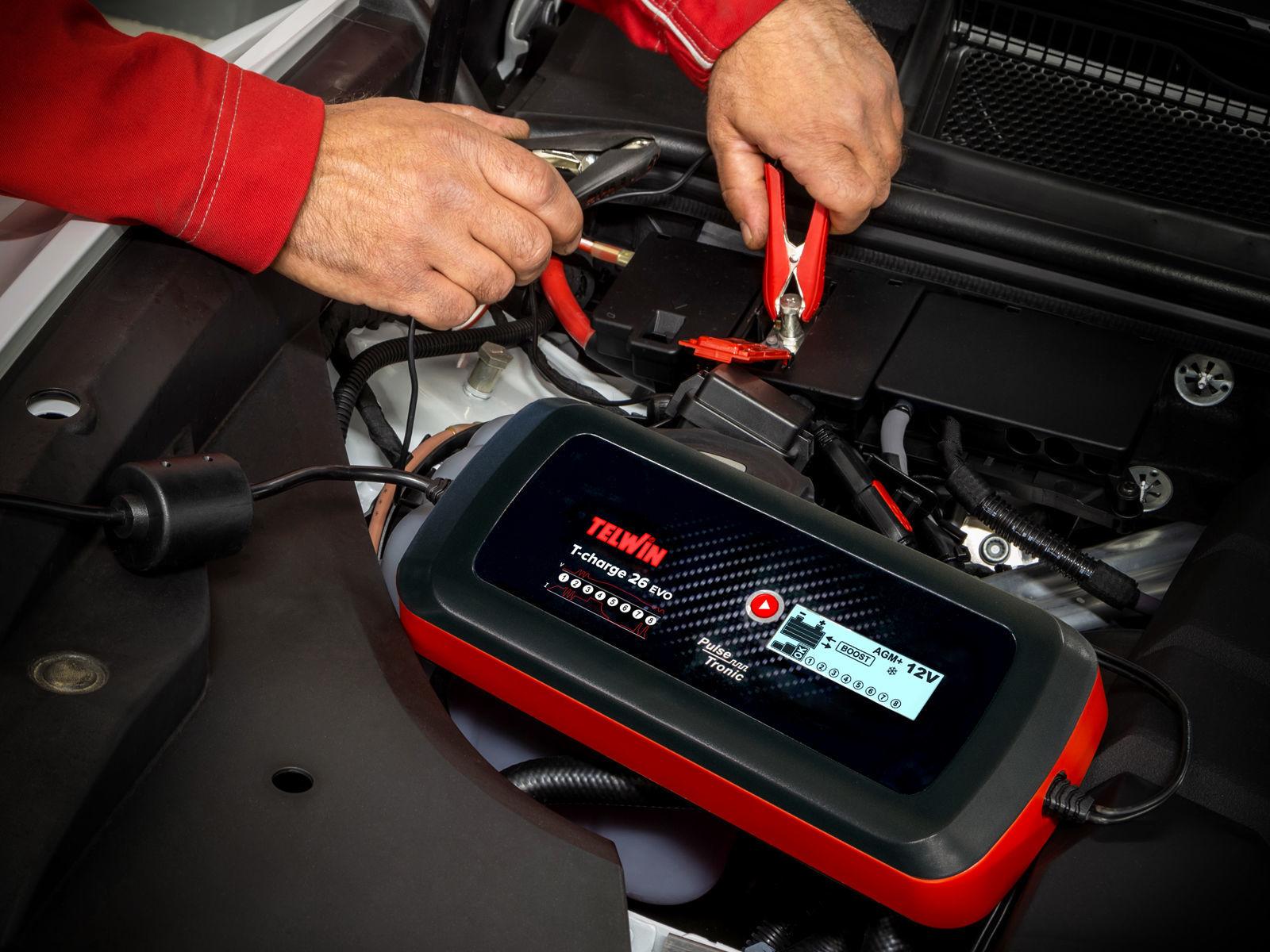 Bilde av Batterilader T-Charge 26 Evo 12/24V 16A