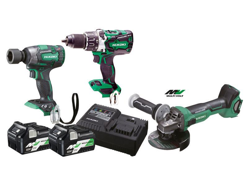 Bilde av Verktøypakke 18V Industri 3 maskiner