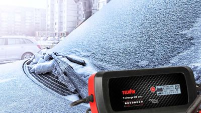 Lad batteriet før vintersesongen –  unngå startproblemer med vedlikeholdslading!