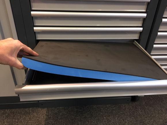 Foam for verkstedinnredning skuffer og vogn nordic lift verktøy skjæres freses evafoam
