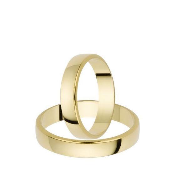 Gifteringer i gull 14kt, 6 mm. OREST –115600