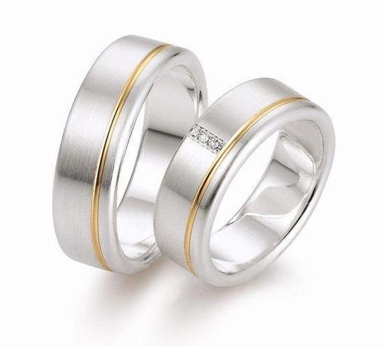 Gifteringer i sølv,7 mm. GETTMANN - 831770