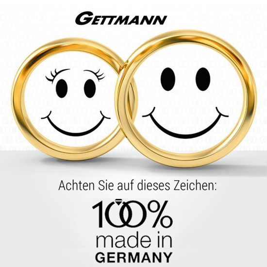 100% made in Germany - gifteringer 1110360