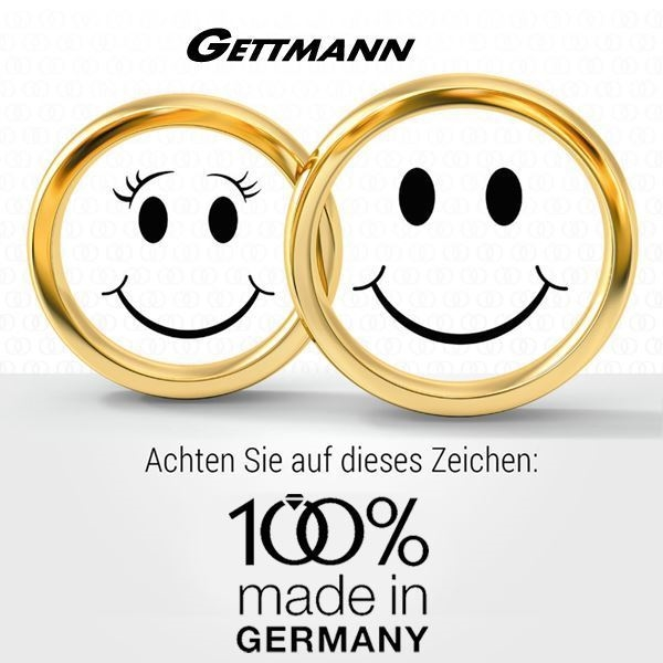 100% made in Germany - gifteringer 1801570