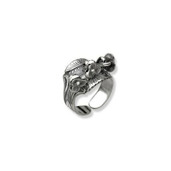 Nordlandsring, oksydert, liten Nordlandssølv - 63200