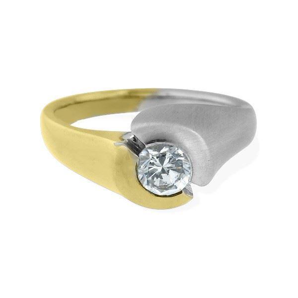 Bilde av Diamantring gull 0,33 ct W-Si -6712