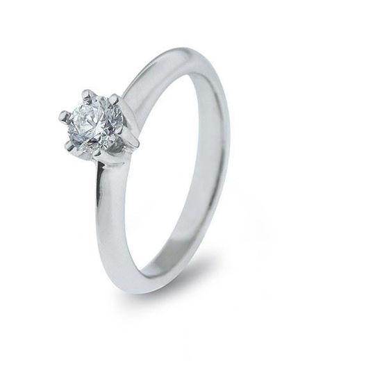 Diamantring i hvitt gull med 0,31 ct TW-Si-11890031