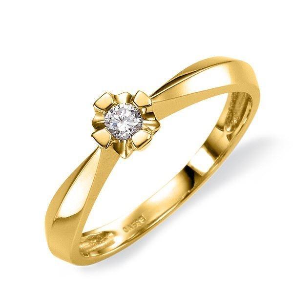 Diamantring Evita med 0,10 ct W-Si-501100