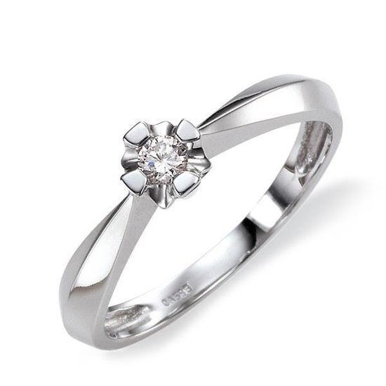 Diamantring Evita med 0,15 ct W-Si-50115