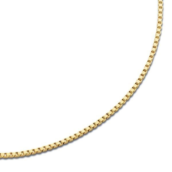 VENEZIANSK gult gulls kjede 38 cm/0.7 mm-100838