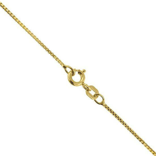 VENEZIANSK gult gulls kjede 45 cm/0.7 mm-100845