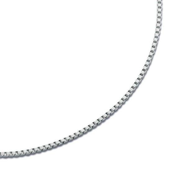 Veneziansk sølv kjede 38 cm / 0.9 mm-1210505380