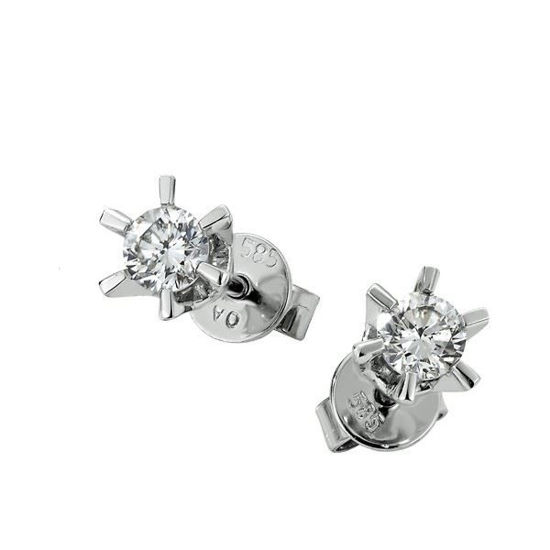Sofia diamant øredobber med 2/0,10 ct W-Si-2120710