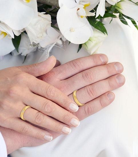 illustrasjon med hånd av gifteringer- 1110245