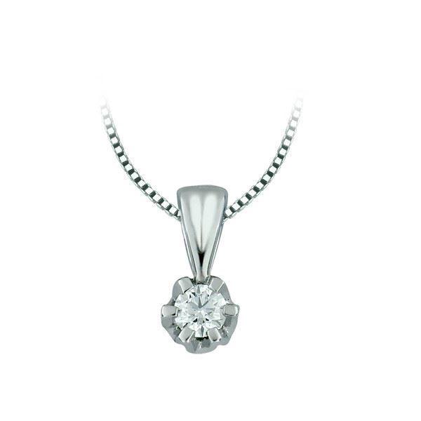Diamantsmykke Sitara i gull med 0,21 ct W-Si-322121