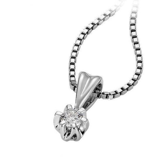 Diamantsmykke Sitara i gull med 0,24 ct W-Si-322124