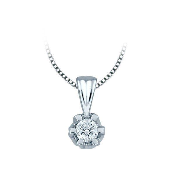 Diamantsmykke Sitara i gull med 0,25 ct W-Si-322125