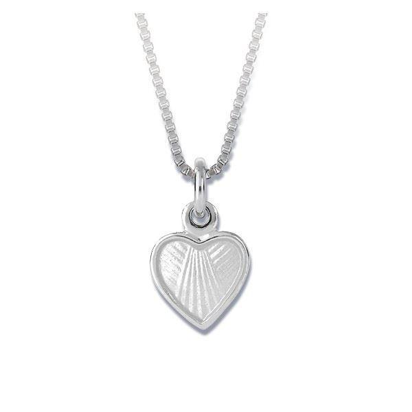 """Sølvsmykke """"hjerte"""" til barn -22703"""