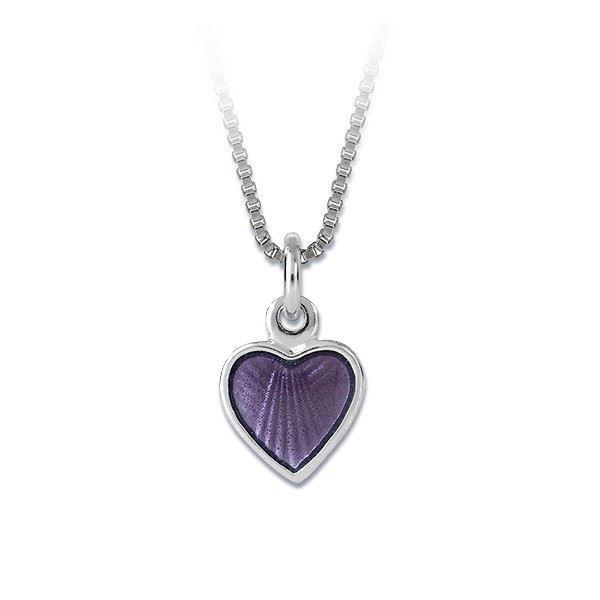 """Smykke """"Lilla hjerte"""" i sølv - 22718"""