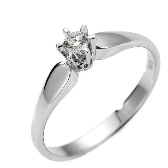 Diamantring Sofia med 0,18 ct W-Si-120718