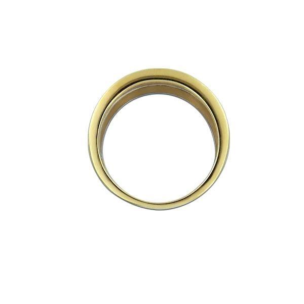 Diamantring gull med 0,05 ct W-Si-10021516