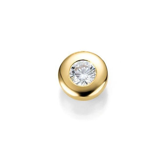 Diamantsmykke i gull med 0,25 ct W-Si -3103930