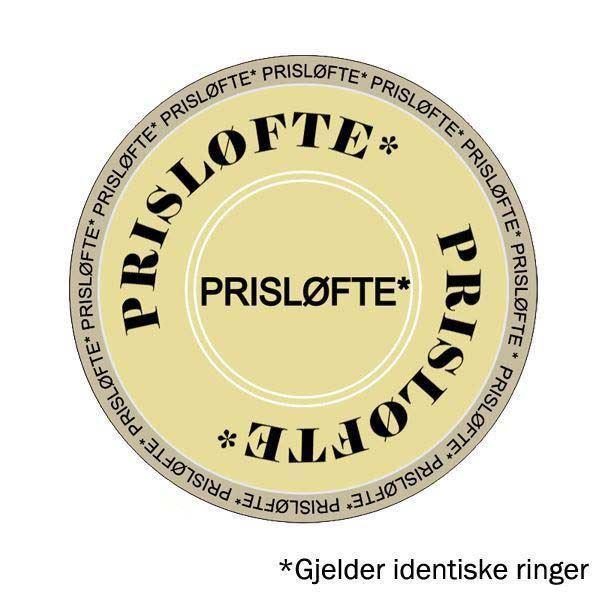 Bilde av Gifteringer i hvitt & grått gull 14 kt, 3.5 mm. BASIC LIGHT - 4805667