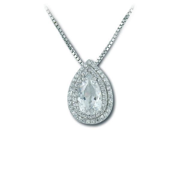 Bilde av Smykke i sølv med zirkonia - 1002153