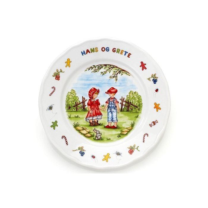 Porselen Hans og Grete. Krus, skål, tallerken - 815
