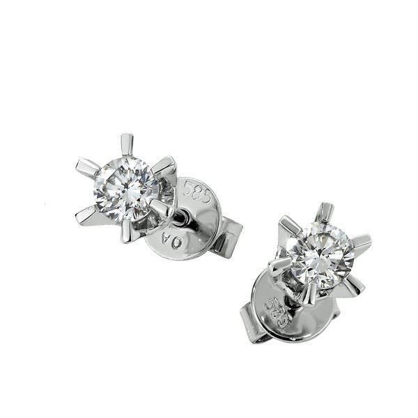 Sofia diamant øredobber med  2/0,16 ct W-Si -2120716