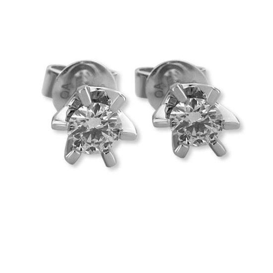 Sofia diamant øredobber med  2/0,25 ct W-Si-2120725