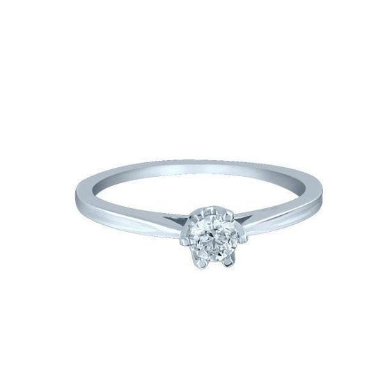 Bilde av Diamantring forlovelsesring Sitara 0,16 ct W-Si-222116
