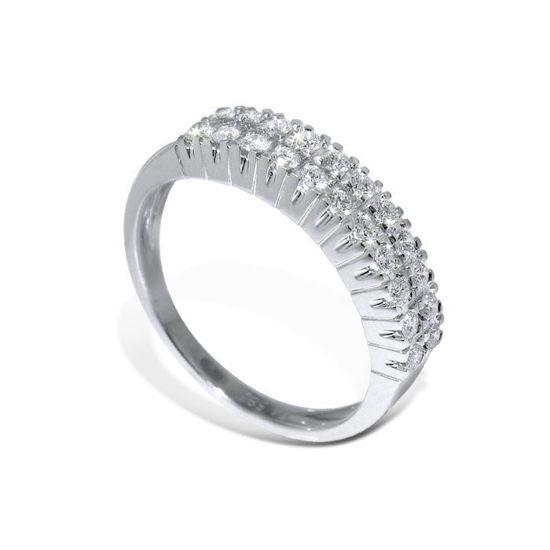 Diamantring i hvitt gull med 0,38 ct W-Si-3301038