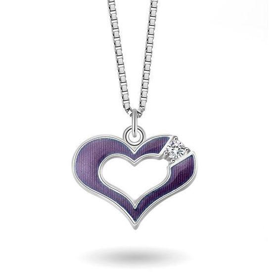 Smykke Lilla hjerte i sølv, til barn