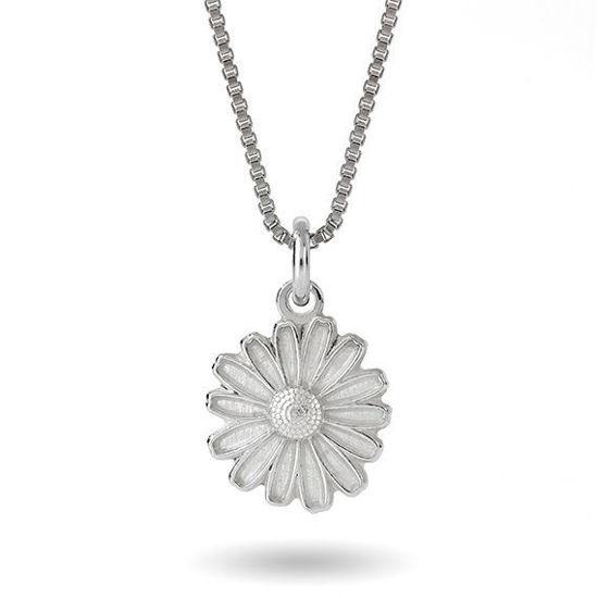 Smykke Hvit prestekrage i sølv, til barn