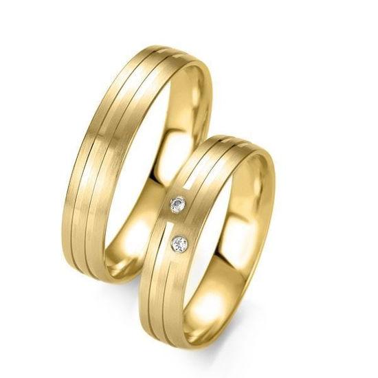 Gifteringer i gull 14 kt, 4.5 mm. Slim line - 48071410